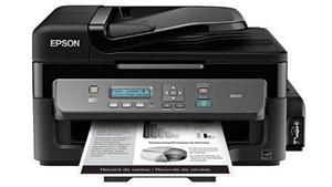 Impresora multifuncional epson usb wi fi tinta continua
