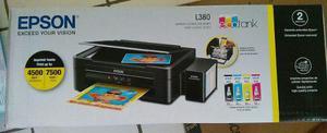 Impresora multifuncional l380 epson sistema continuo