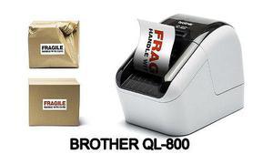Impresora termica de etiquetas brother ql800