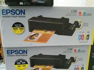 Impresoras epson l120 con sistema continuo facturado