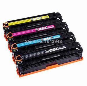 Kit 4 toner compatible con hp 125a color laserjet cp1215