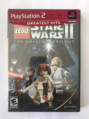 Lego star wars 2, the original trilogy ps2, nuevo