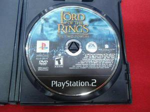 Longaniza Games * Ps2 The Lord Of The Rings Two Towers