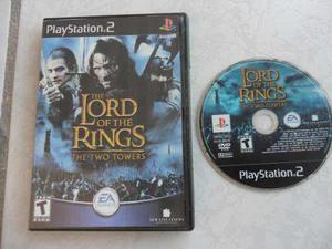Lord Of The Rings Two Towers Ps2 Portada Impresa