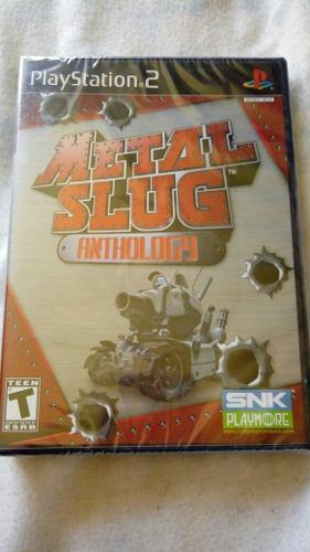 Metal slug anthology nuevo sellado ps2 envio gratis $1199