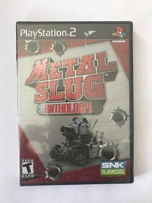 Metal slug, anthology, ps2, nuevo