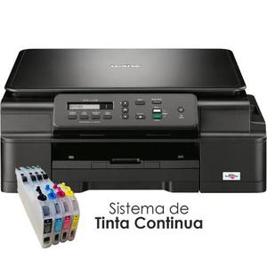 Multifuncional brother dcp-j105 + sistema de tinta continua