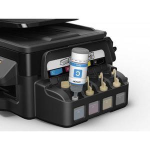 Multifuncional epson ecotank l575 - sistema de fábrica,