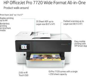 Multifuncional inyección a color hp officejet pro 7720 gran