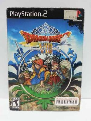 Playstation 2 - ps2 dragon quest viii