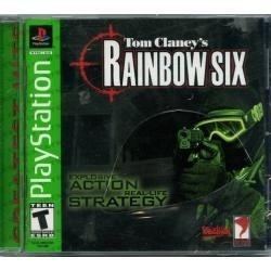 Ps1 tom clancy´s rainbow six. compatible con ps2 y ps3.