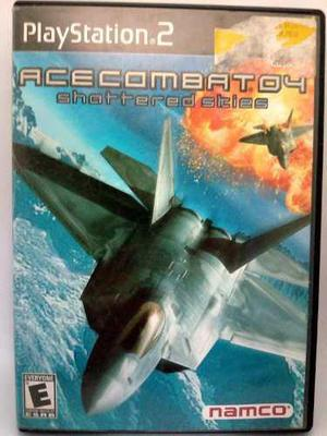 Ps2 ace combat 04 shattered skies/ fun labs.