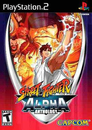Ps2 street fighter alpha anthology (mercado pago y oxxo)