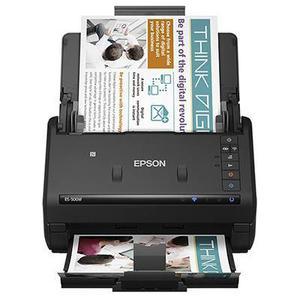 Scanner documental epson workforce es-500w dúplex 21.5cm