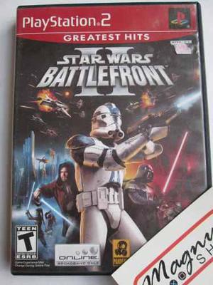Star wars battlefront 2 playstation 2 ps2 completo garantiza