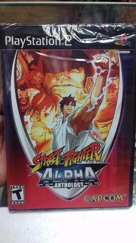 Street fighter alpha anthology.-ps2