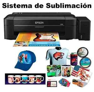 Sublimación sistema de impresión.