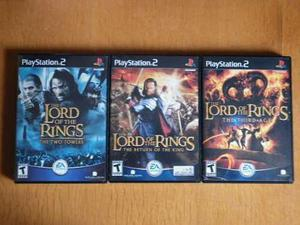 The Lord Of The Rings Collection Para El Play Station 2