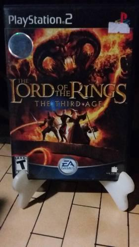 The Lord Of The Rings The Third Age Ps2 Gamestoreshock