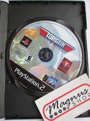 Top gun combat zones playstation 2 ps2 original garantizado