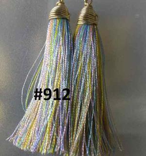 92c15afe71b4 Aretes mota hilo borla seda mayoreo moda tassel