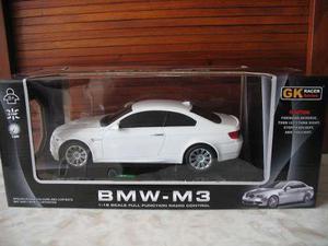 Auto Bmw M3 De Control Remoto Blanco Escala 1 18 Oficial Bmw En