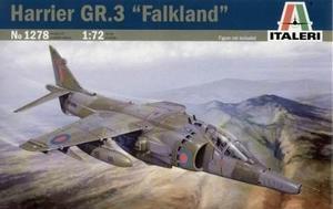 Avión harrier gr.3 falkland by italeri # 1278 1/72