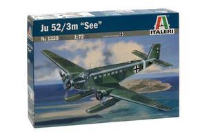 Avión junkers ju 52/3m see by italeri # 1339 escala 1/72