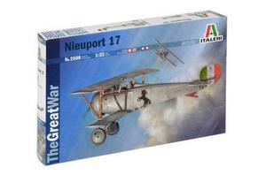 Avión nieuport 17 by italeri # 2508 escala 1/32