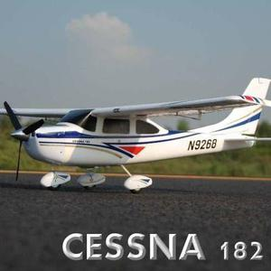 Cessna 182 skylane radio control remoto rc avión rtf w /