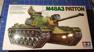 M48a3 patton us tank w/ 2 fig tamiya escala 1/35 nuevo