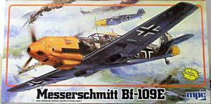 Messerschmitt bf-109 e mpc escala 1/24 nuevo caja blanca