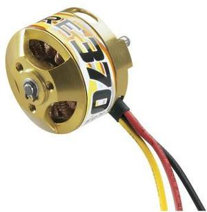 Motor outrunner brushless 370 28 26 1000kv gpmg4525 avion rc