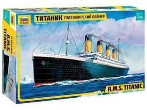 R. m. s. titanic by zvezda # 9059 escala 1/700