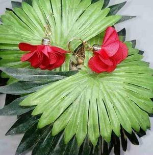 Set 7pzas aretes flores moda mujer bisuteria