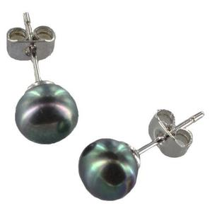 14893faf61ee Aretes perla natural   REBAJAS Mayo