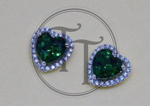 0049118b5f2b Aretes esmeralda 2.57 ct en plata esterlina 925 en México   REBAJAS ...