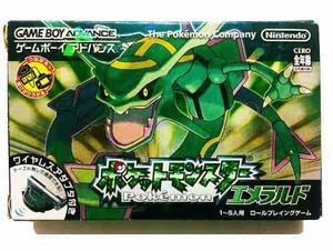 Caja Manuales De Pokemon Emerald Japones Sin Juego Gba En Mexico