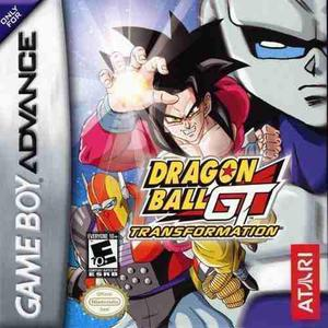 Dragon ball gt game boy advance sellado