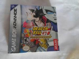 Dragon ball gt transformation gba nuevo game boy advance