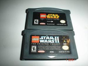 Game boy advance lego star wars 1 y 2 gba