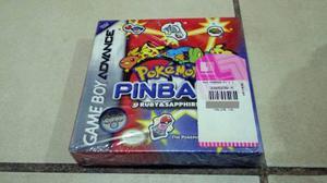 Gameboy advance - pokemon pinball