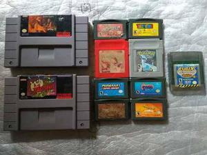 Gameboy color y juegos de gameboy gba gbc