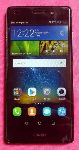 Huawei g elite ale l23, negro, liberado, estética 9.