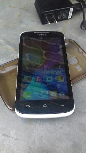 Huawei y520, blanco, estetica de 9, telcel liberado