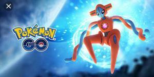 Invitación ex para deoxys pokemon go! solo fly spoofers