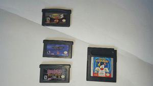 Juegos nintendo gameboy advance 4 juegos + lupa gratis
