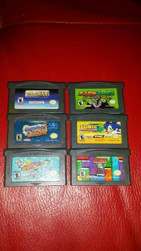 Pack de juegos de gameboy advance gba