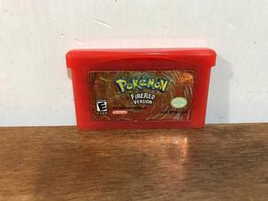 Pokemon fire red version para gameboy advance gba nintendo