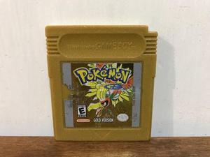 Pokemon Gold Version Para Gameboy Color / Gbc Nintendo